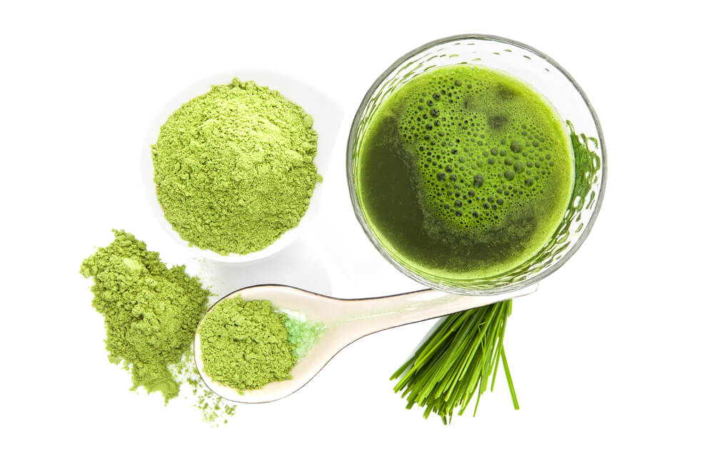 Green juice and greens powder supplement