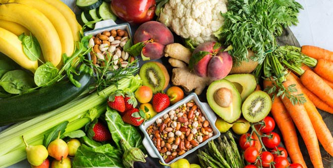 Fiber-rich foods increase the good bacteria levels and improve your gut health.
