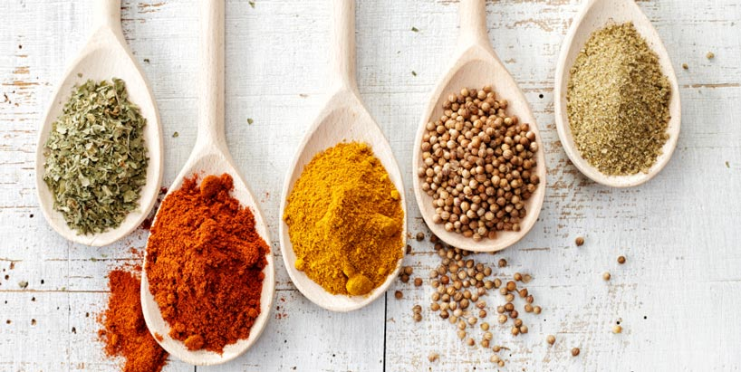 Adding spices to your meals can help the condition of your gut microbiome