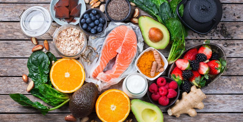 A healthy and balanced diet can replenish your body with good nutrients
