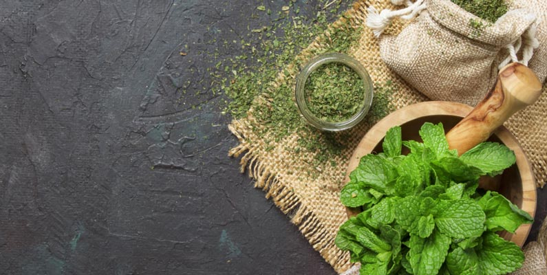The antioxidant property of peppermint can help with various disorders of digestive sytem